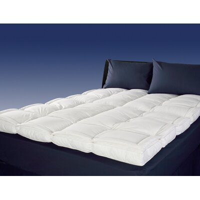 Luxury 4 Down Mattress Topper Size: King