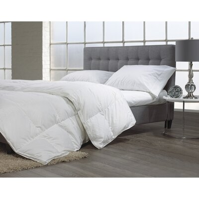 Luxury Goose Down Comforter Size: Double