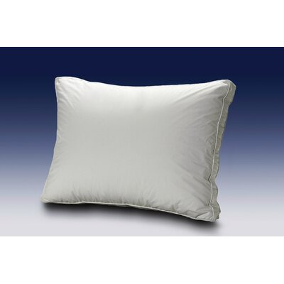 Luxury White Goose Down Pillow Size: King