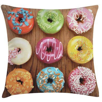 Urban Loft Prints Donuts Throw Pillow