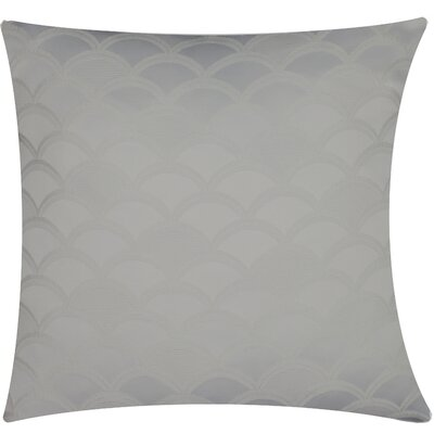 Urban Loft Gatsby Throw Pillow Color: Gray