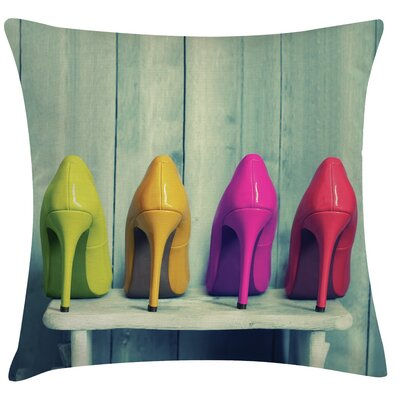 Urban Loft Prints Stilettos Throw Pillow