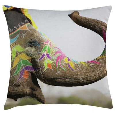 Urban Loft Prints Elephant Throw Pillow