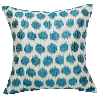 Urban Loft with Ocelot Throw Pillow Color: Blue