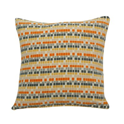 Urban Loft Textured Cubes Throw Pillow