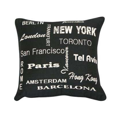 Urban Loft International Throw Pillow