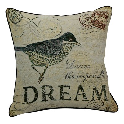 Urban Loft Dream Bird Throw Pillow