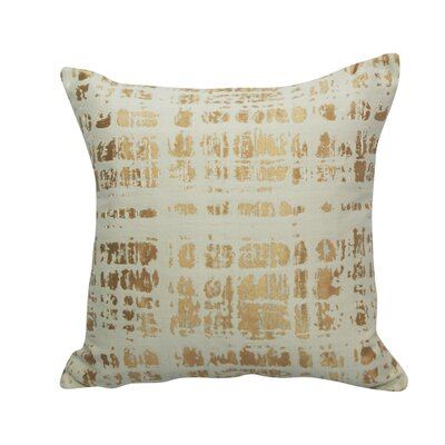 Urban Loft Cotton Throw Pillow Color: Copper