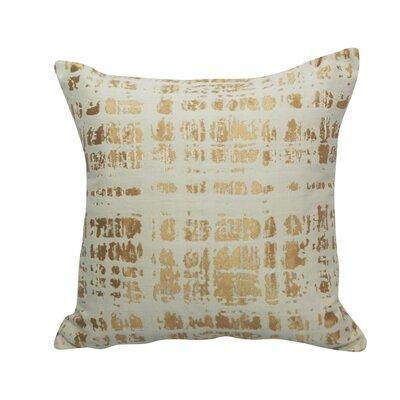 Urban Loft Throw Pillow Color: Copper