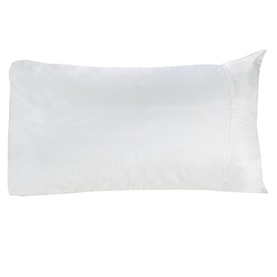 Cotton Sateen Pillow Protector Size: Queen