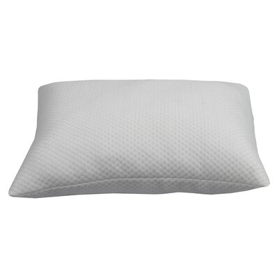 "The ""Cuddler"" Jacquard Knit Polyfill Pillow Size: Queen 420756"