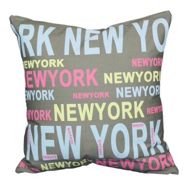 Couch Potatoes New York Throw Pillow