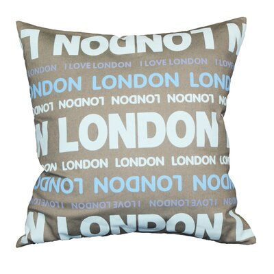 Couch Potatoes London Throw Pillow