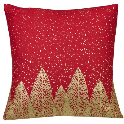 Urban Loft Indoor/Outdoor Throw Pillow Color: Red