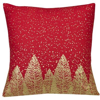 Urban Loft Indoor/Outdoor Throw Pillow Color: Red