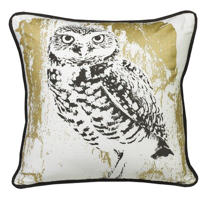 Urban Loft Snow Owl Indoor/Outdoor Throw Pillow
