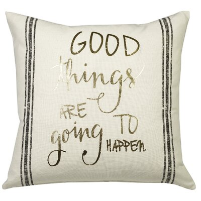 Urban Loft Good Things Throw Pillow