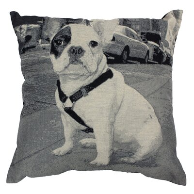 Urban Loft French Bulldog Throw Pillow