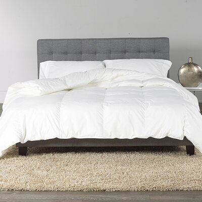 Goose Down Comforter Size: Twin