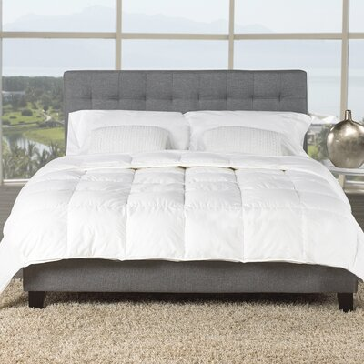 Light Hutterite Goose Down Comforter Size: Double