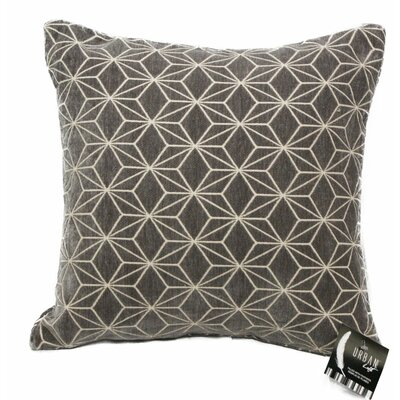 Urban Loft Spider Throw Pillow Color: Gray