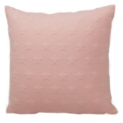 Emma and Violet Star Brilliant Throw Pillow Color: Pink