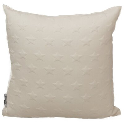 Emma and Violet Star Brilliant Throw Pillow Color: White