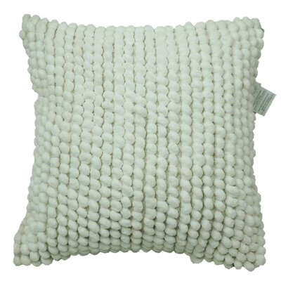 Breuing Bubbles Throw Pillow Color: White