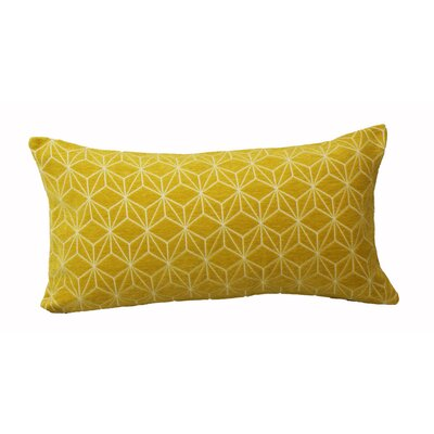 Defino Spider Lumbar Pillow Color: Gold