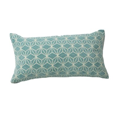Defino Spider Lumbar Pillow Color: Teal
