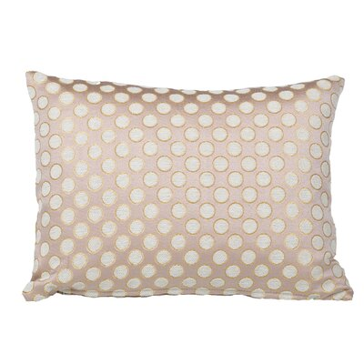 Clairsville Dots Gold Line Lumbar Pillow