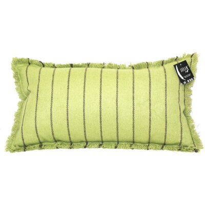 Tessier Fringe Stripe Lumbar Pillow