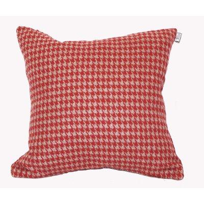 Calafia Throw Pillow Color: Red/Tan