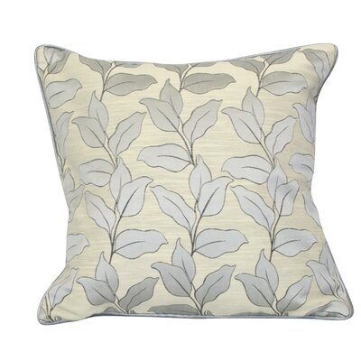 Liston Throw Pillow Color: Gray
