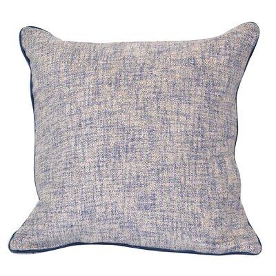 Breuing Throw Pillow Color: Navy