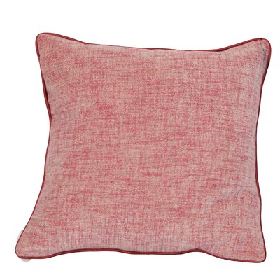 Breuing Throw Pillow Color: Red