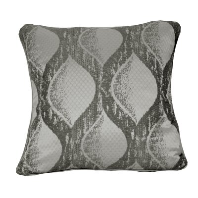 Throggs Square Throw Pillow Color: Gray