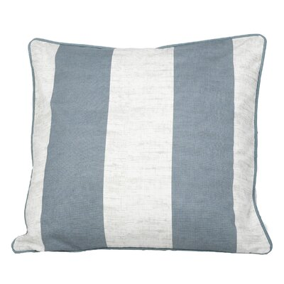 Fairchild Stripes Throw Pillow Color: Teal Green