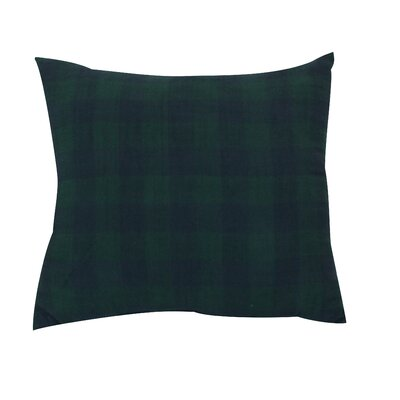 Devrek Throw Pillow Color: Navy Blue/Dark Green