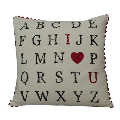 Shanell Alphabet Throw Pillow