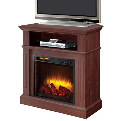 The Dover 40 TV Stand with Fireplace