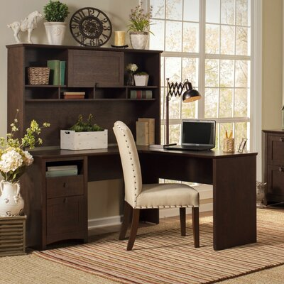 Buena Vista L Executive Desk with Hutch and Lateral File Product Picture 5812