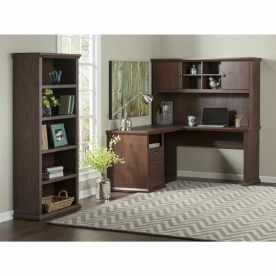 Yorktown Corner Desk with Hutch and Bookcase Product Photo 6444