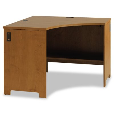 Office Connect Furniture Envoy Corner Desk Shell Finish: Natural Cherry Product Picture 2690
