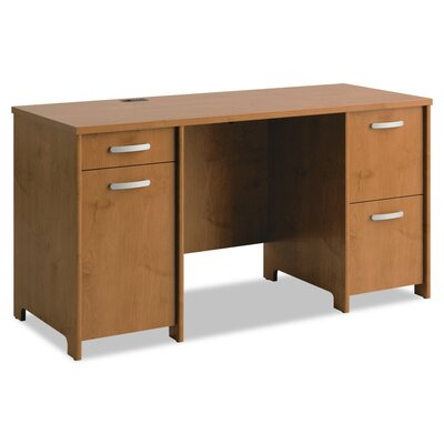 Office Connect Furniture Envoy Double Pedestal Desk Product Picture 2690