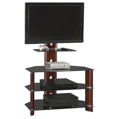 Cheap Bush Segments Bedroom Height 38″ TV Stand in Rosebud Cherry (BU4166)