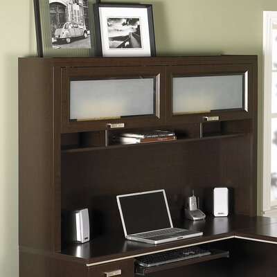 Cosner 39.63 H x 59.5 W Desk Hutch Finish: Mocha Cherry
