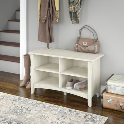 Ottman Storage Bench Finish: Antique White