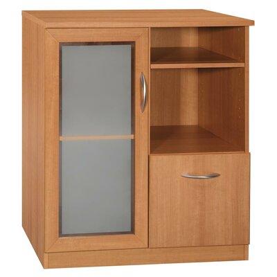 Buy Low Price Bush Vantage Storage Cabinet in Light Dragonwood ...