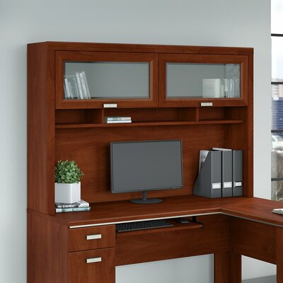 Cosner 39.63 H x 59.5 W Desk Hutch Finish: Hansen Cherry